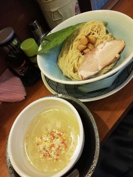 「貝塩つけ麺」@SALT AIRの写真