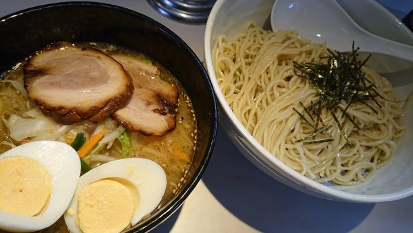 「塩つけ麺」@湯麺 大八の写真