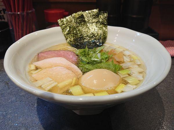 「特製鶏だし塩RAMEN」@RAMEN 火影 produced by 麺処ほん田の写真