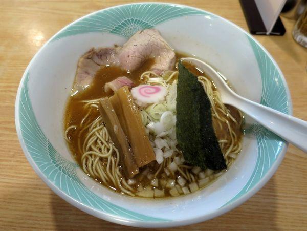 「肉入り中華そば 700円」@ツバメヤの写真