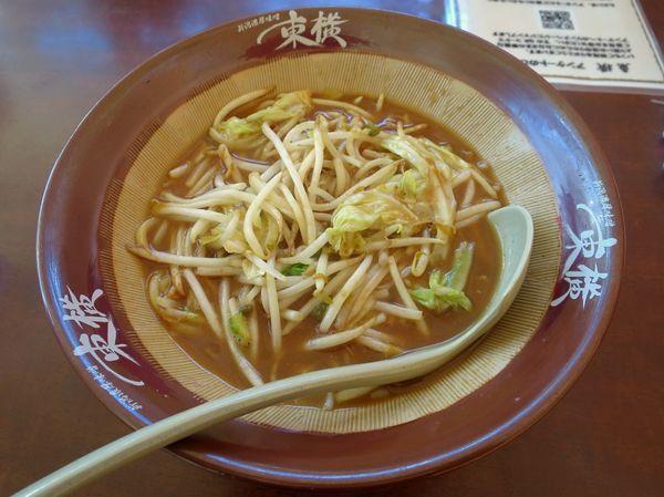 「味噌ラーメン(ハーフ) 660円」@ラーメン 東横 愛宕店の写真