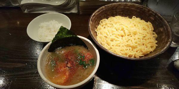 「つけ麺」@天虎の写真