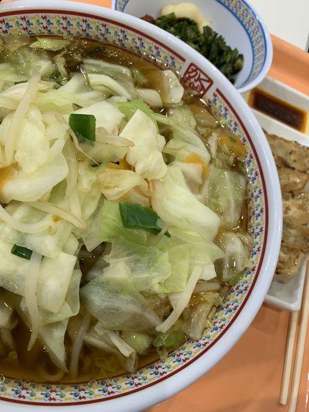 「野菜いっぱいラーメン」@どうとんぼり神座 イオンモールナゴヤドーム前店の写真