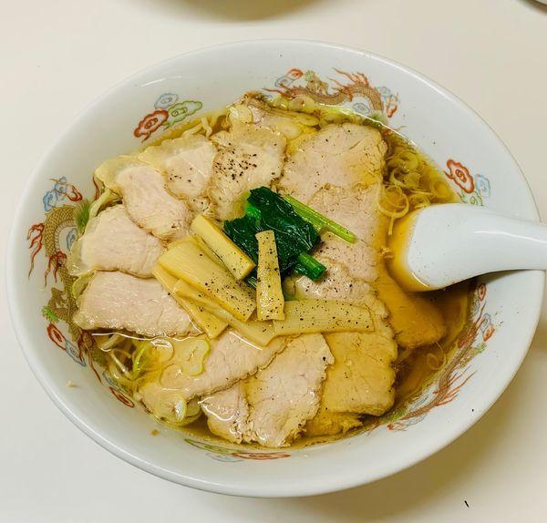 「チャーシュー麺」@山口食堂の写真