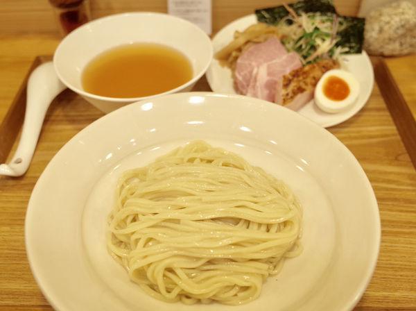 「冷やし塩つけ麺 ゼンメの雫 1玉…1080円」@麺屋 さくらの写真