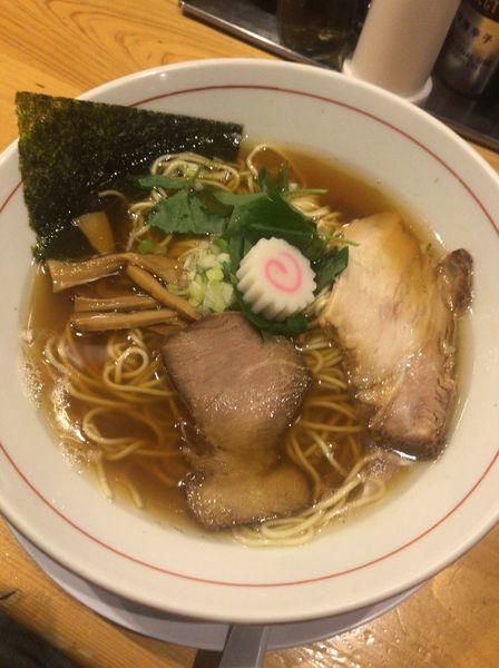 「本日のバリ煮干そば 780円」@蕾 煮干 分家の写真