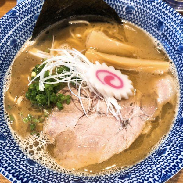 「魚介とんこつラーメン ¥800」@麺屋わおんの写真