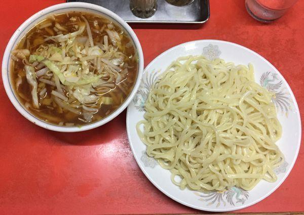 「野菜つけメン900円」@つけめん 丸長 桜台店の写真