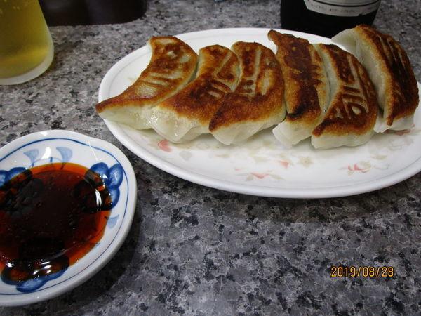 「ランチset餃子ラーメン半ライス」@中華料理 萬龍軒の写真