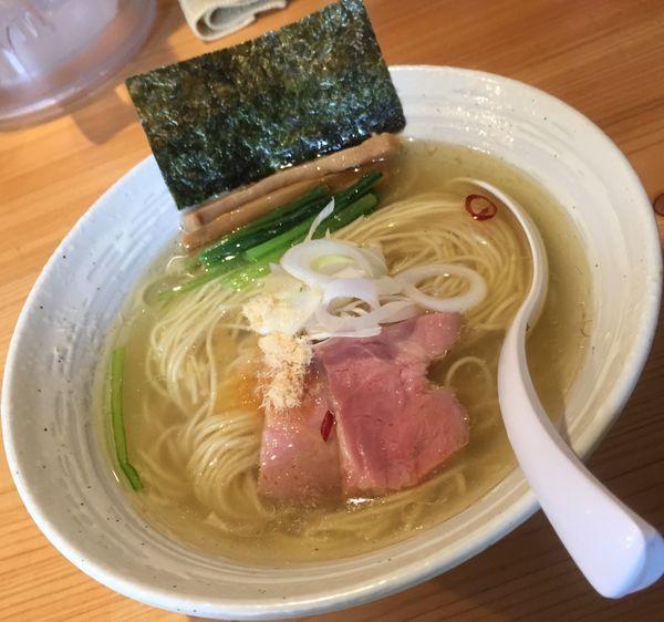 「らぁ麺(塩)780円他」@麺屋 さくら井の写真