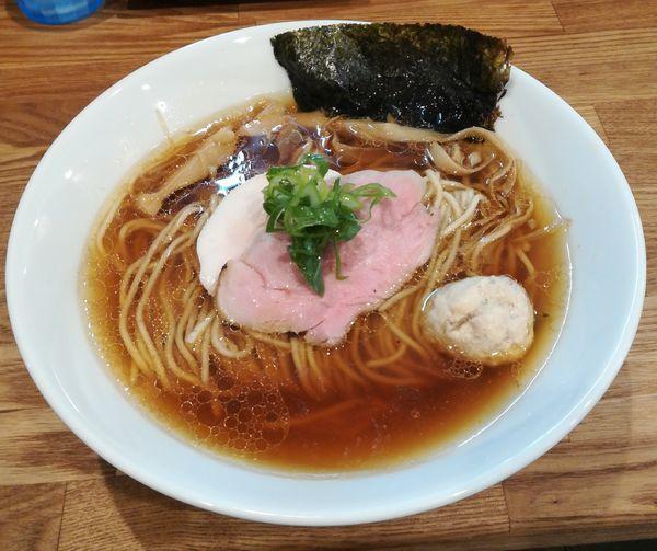 「地鶏ラーメン(醤油)」@自家製麺 純の写真