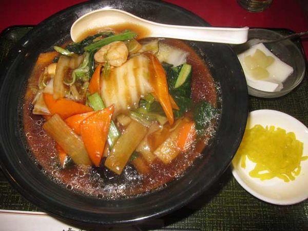 「五目湯麺(単品) 600円(ランチ)」@花彫酒家の写真
