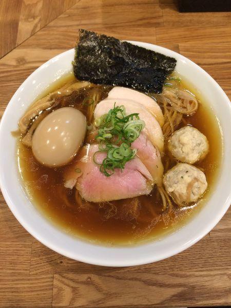 「特製地鶏(醤油)950円」@自家製麺 純の写真