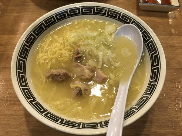 「鳥良の鶏らー麺」@磯丸水産 横浜鶴屋町店の写真