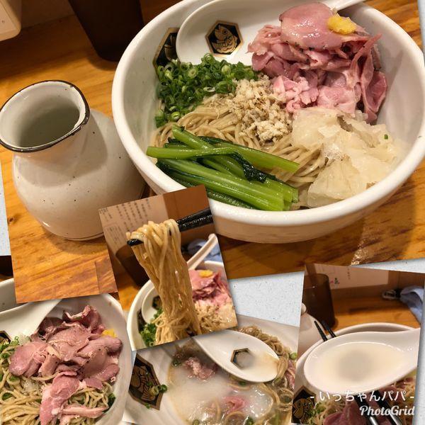「冷やし鯛油そば 750円」@真鯛らーめん 麺魚の写真