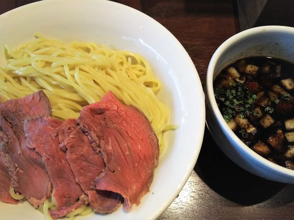 「つけ麺¥850+大盛り¥0」@牛骨らーめん 牛王の写真