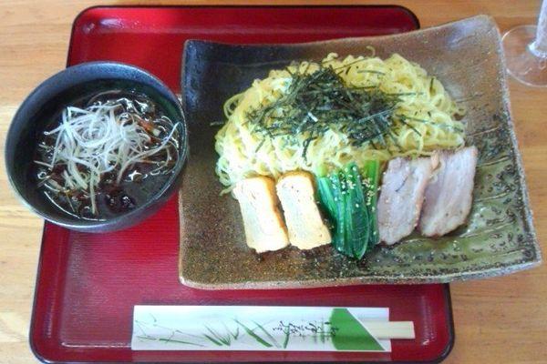 「夏期限定 ほうさく もりそば 750円」@和風ラーメン 味のほうさくの写真