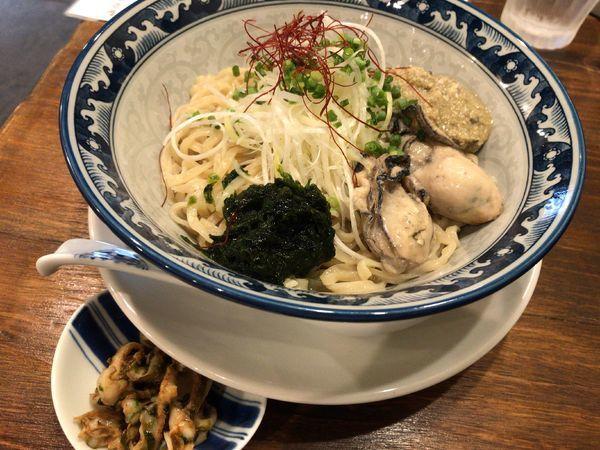 「牡蠣のまぜそば」@貝料理 梵厨の写真