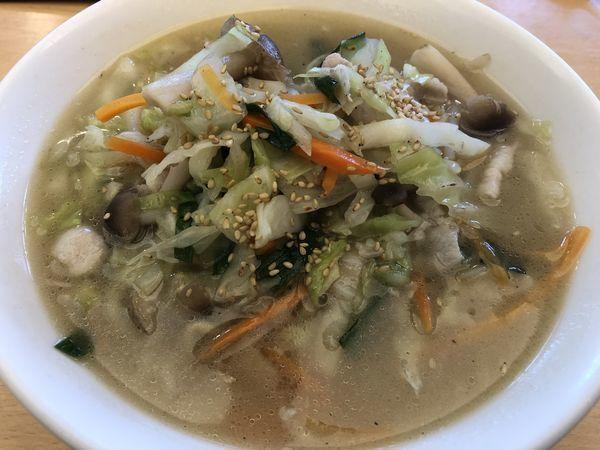 「野菜タンメン 830円」@中華四川料理 飛鳥の写真
