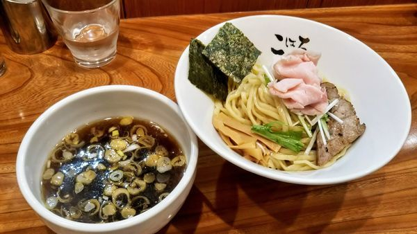 「清淡煮干つけ麺」@日本橋麺処 こはるの写真