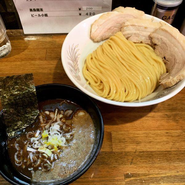 「ドロニボつけ麺+バラチャーシュー2枚トッピング」@ラーメン豚極有の写真