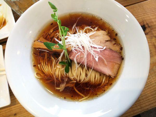 「Kiri_Soba流山本みりん醤油 800円」@The Noodles & Saloon Kiriyaの写真