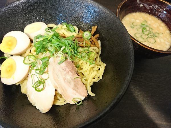 「つけめん+煮玉子(880円)」@あら焼鶏白湯 カシムラの写真