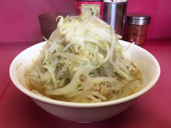 「小ラーメン(麺少なめ・ニンニク) 730円」@ラーメン二郎 ひばりヶ丘駅前店の写真
