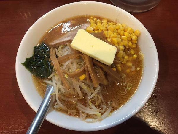 「味噌ラーメン+バター+コーン」@えぞ菊 御徒町店の写真
