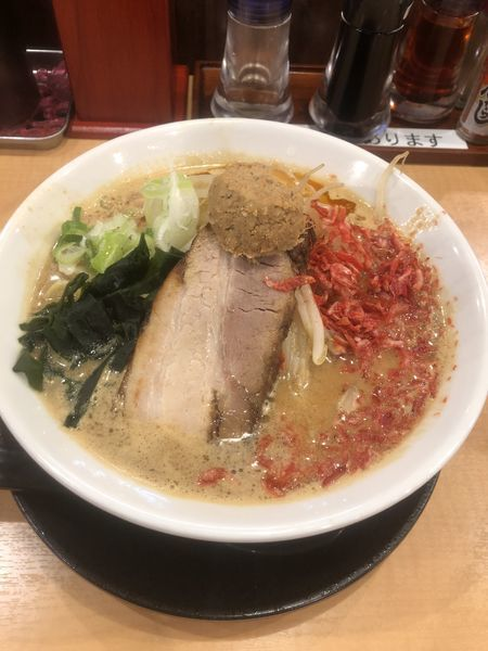 「エビ味噌ラーメン」@らーめん 源之丞の写真