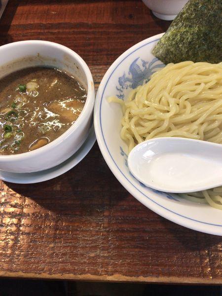 「こってり煮干しつけ麺(850円)」@初代青樹の写真