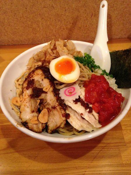 「【夏季限定】冷やしまぜそば塩 大 1026円」@らー麺Chopの写真