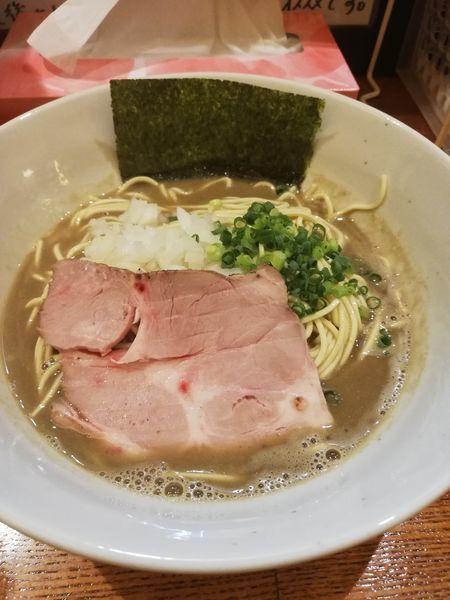 「煮干しそば 極」@麺屋 烈の写真