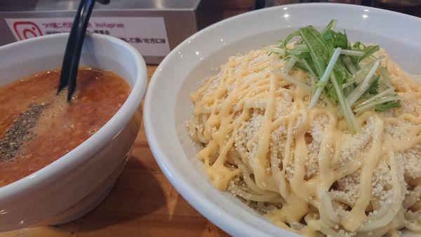 「4種のチーズトマトつけ麺」@つけ麺二代目いさおの写真