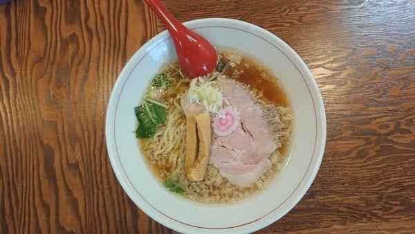 「醤油らーめん」@拉麺 イチバノナカの写真