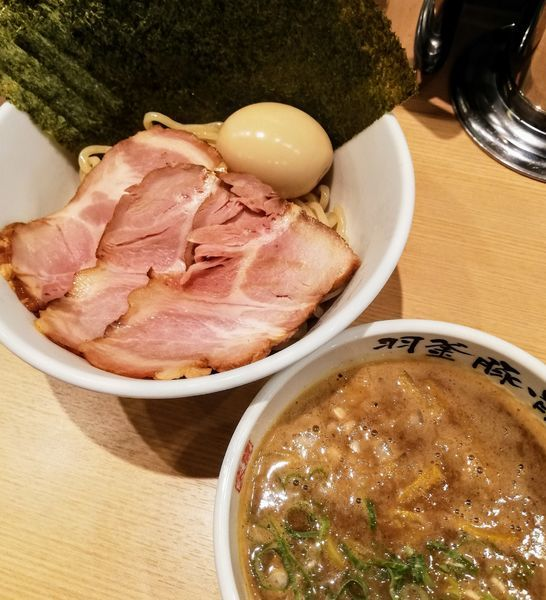 「つけ麺(🉐トッピング)」@麺屋 庄太 赤坂店の写真