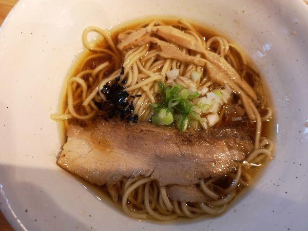「淡麗醤油山賊麺」@上州山賊麺 大大坊の写真