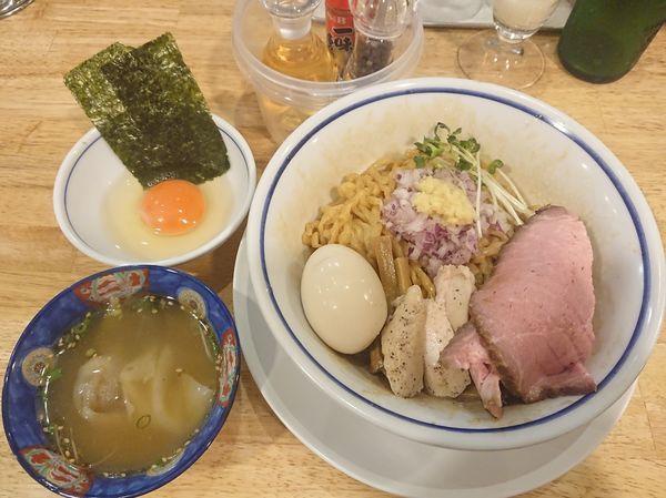 「特製油そば(醤油)」@手打式 超多加水麺 ののくらの写真