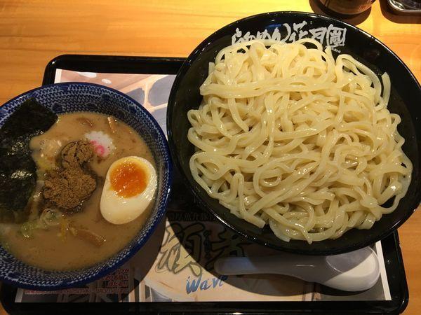 「頑者waveつけ麺 特盛」@らあめん花月嵐 笹塚店の写真