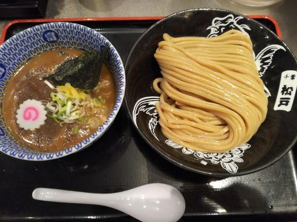 「濃厚つけめん(並):920円」@松戸富田麺絆の写真