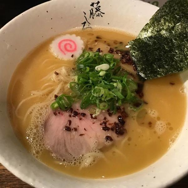 「濃厚鷄白湯ラーメン 750円」@麺屋 藤しろ 目黒店の写真