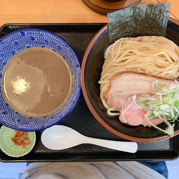 「濃厚魚介つけ麺+カレ変ライス」@麺屋 太陽の写真