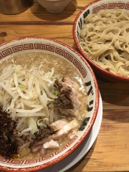 「つけ麺」@らーめん バリ男 日本橋店の写真