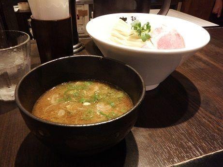 「濃厚魚介豚骨つけ麺」@麺処 さとう 桜新町店の写真
