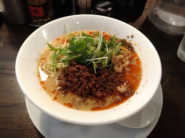 「冷やし担々麺」@四川担担麺 阿吽 湯島店の写真