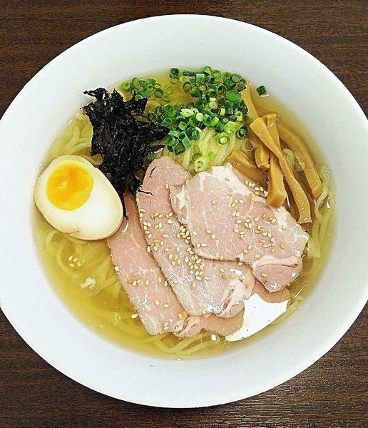 「(限定)鶏と魚介の冷やしらーめん 850円」@麺屋 志縁の写真