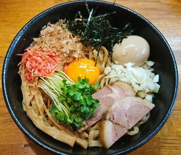 「まぜそば ¥800」@麺屋 鶏口の写真