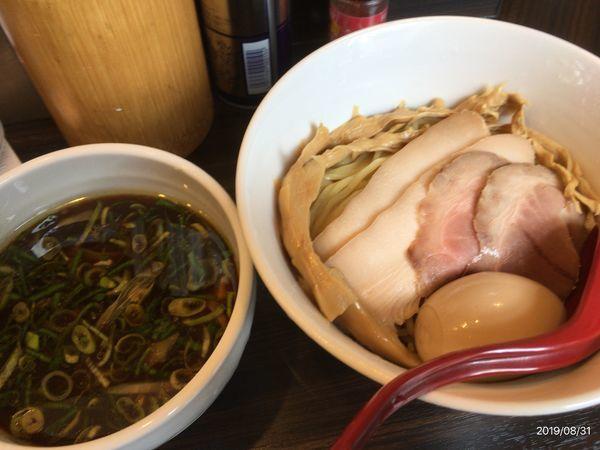 「特製つけ麺」@麺屋かなでの写真