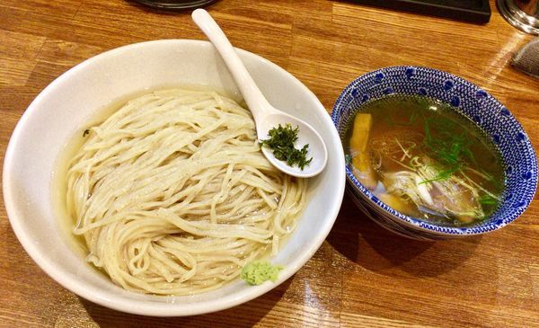 「限定 昆布水つけ麺 大盛 塩ver」@麺処 青野の写真