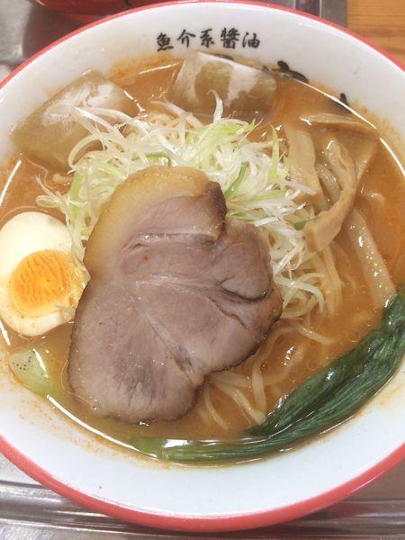 「[限定]冷やし味噌らーめん」@魚介系醤油拉麺専科 海空土の写真